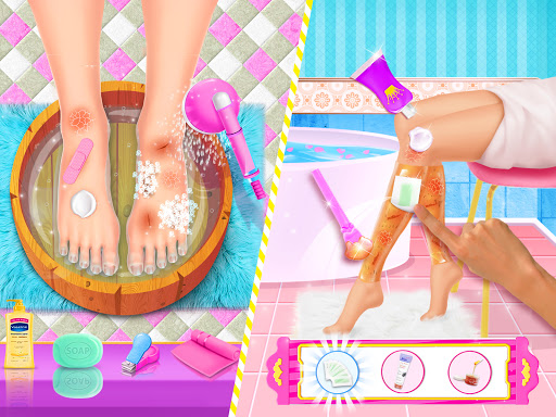 Spa Day Makeup Artist: Makeover Salon Girl Games android2mod screenshots 8
