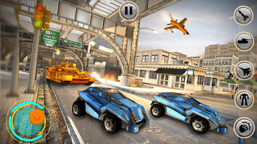 Tank Robot Car Games - Multi Robot Transformation screenshots 16