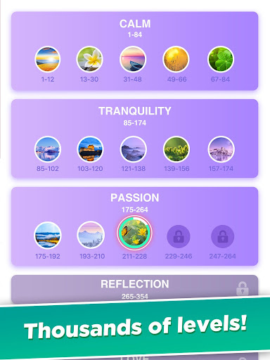 Word Calm - Relax and Train Your Brain screenshots 19