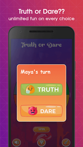 Truth or Dare - Best for Couples, Friends & Family 5.4 screenshots 13