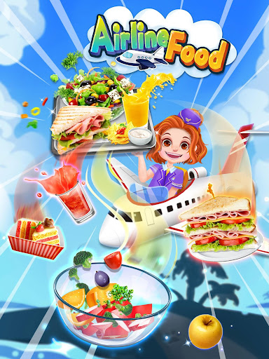 Airline  Food - The Best Airplane Flight Chef 1.5 screenshots 4