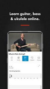 Guitar Lessons, Bass & Ukulele | Fender Play Screenshot