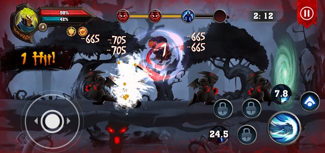 Dota King of Shadow : Knight Fight MOD (Unlimited Money/Gems) 3