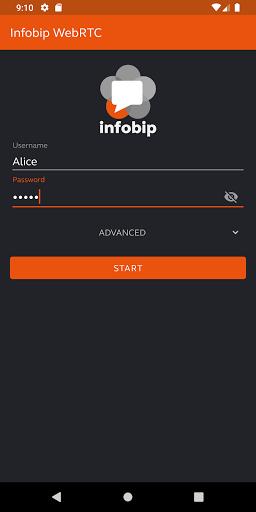 Infobip WebRTC  Screenshots 1