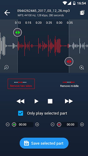 Music player android2mod screenshots 3