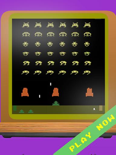 Télécharger Classic Invaders - Jeu de tirs des années 80 apk mod screenshots 3