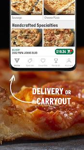Papa John's Pizza & Delivery  Screenshots 3