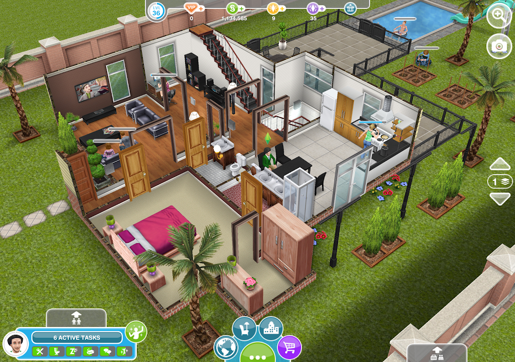 The Sims FreePlay poster 11
