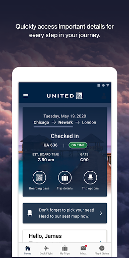 United Airlines android2mod screenshots 1