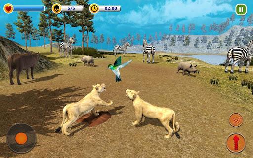 The Lion Simulator - Animal Family Simulator Game 1.3 screenshots 7