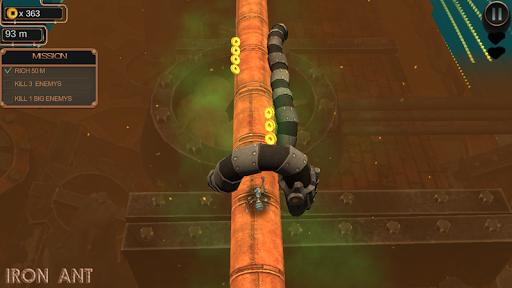 iron ant-robot bugs shooting battle screenshot 1