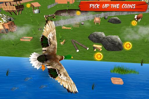 Télécharger Gratuit Virtual Duck Simulator 3D: Real Duck Family Games APK MOD (Astuce) screenshots 2