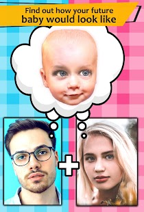 Make a baby: future baby face generator (for fun) Screenshot