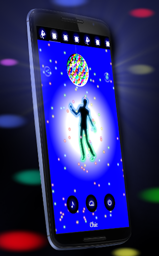 Disco Light: Flashlight with Strobe Light & Music 4.5 Screenshots 7