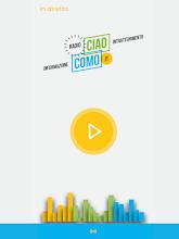 CiaoComo Radio screenshot thumbnail