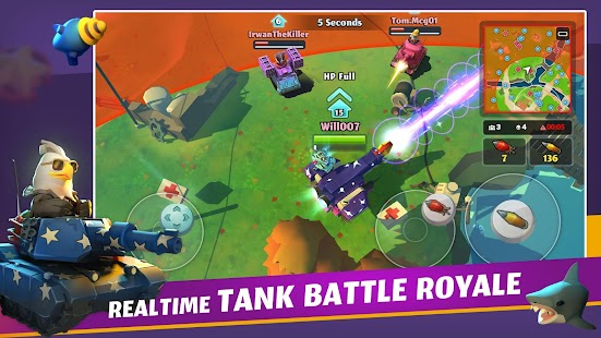 PvPets: Tank Battle Royale Screenshot
