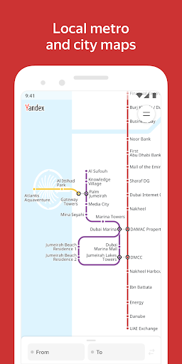 Yandex.Metro u2014 detailed metro maps and route times 3.6.1 Screenshots 6