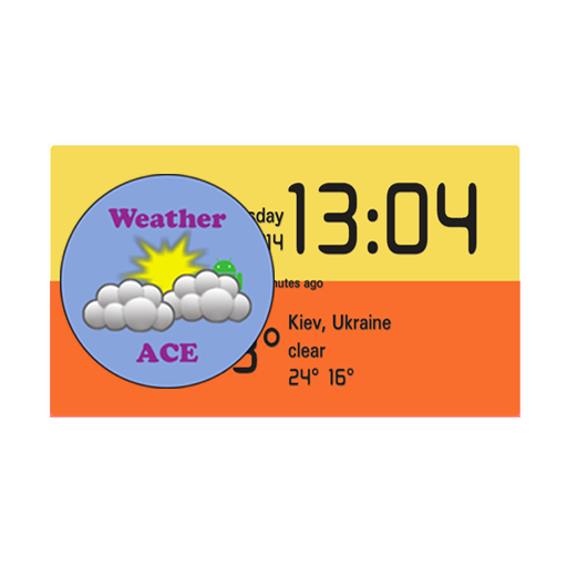 Weather ACE Clock Widget Pack For PC Windows (7, 8, 10 and 10x) & Mac Computer