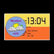 Weather ACE Clock Widget Pack