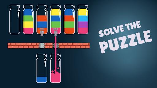 Cups - Water Sort Puzzle screenshots 8