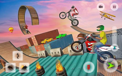 Mega Real Bike Racing Games - Free Games apkpoly screenshots 1