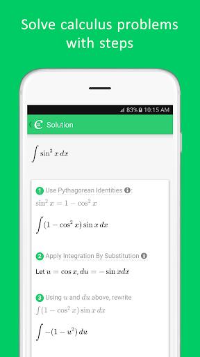 Cymath - Math Problem Solver  Screenshots 5