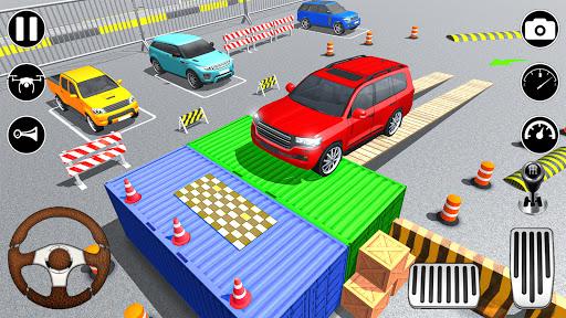 Modern Prado car parking 3D u2013 Free Car games 2021  Screenshots 2