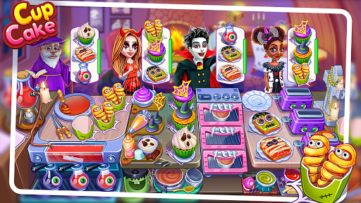 Halloween Cooking : Chef Restaurant Cooking Games apktram screenshots 1