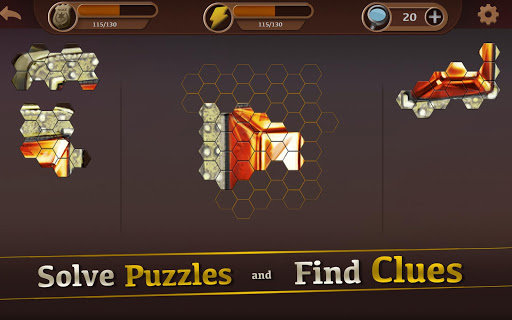 Detective & Puzzles - Mystery Jigsaw Game  screenshots 8