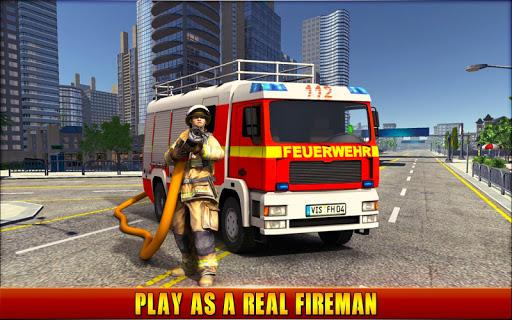 Firefighter Simulator 2018: Real Firefighting Game screenshots 1