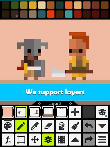 Pixel Studio - Pixel art editor, GIF animation 3.32 Screenshots 12