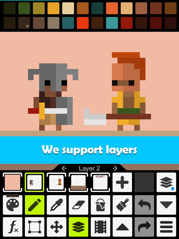 Pixel Studio - Pixel art editor, GIF animation  poster 11