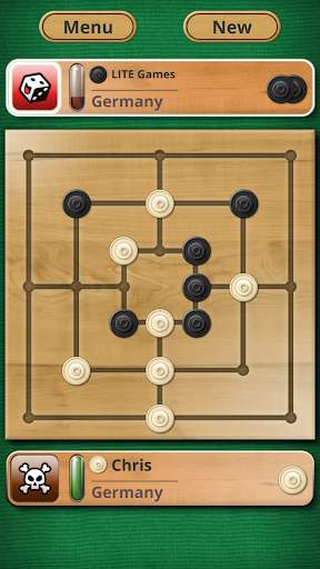 Nine men's Morris - Mills - Free online board game 2.8.12 Screenshots 1