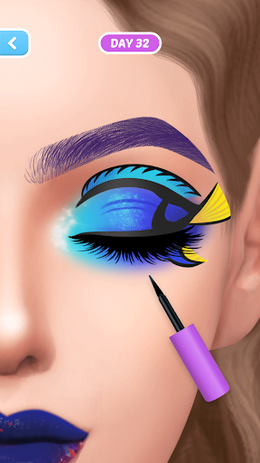 Fashion Makeup-Simulation Game apkpoly screenshots 5