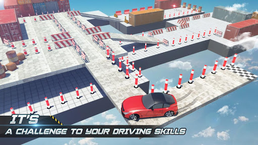 Sky Car Parking 2019 apkpoly screenshots 3