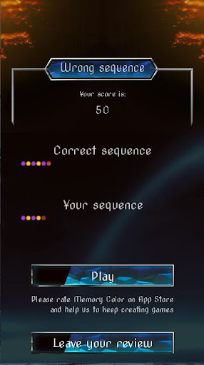 Memory Color - Mind and Brain training 1.2.40 screenshots 4