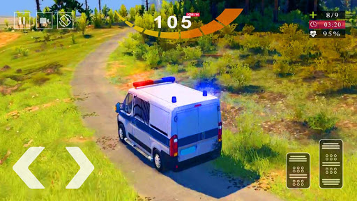 Police Van Gangster Chase - Police Bus Games 2020 screenshots 1