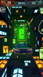 Neon Flytron: Cyberpunk Racer Mod Apk (Unlocked/No Ads) 5