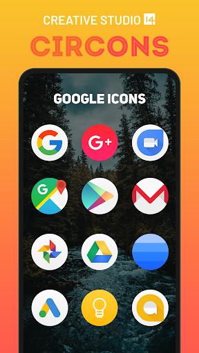 circons icon pack - colorful circle icons screenshot 3
