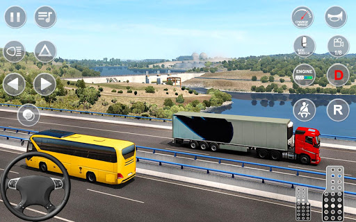 Euro Truck Transport Simulator 2: Cargo Truck Game android2mod screenshots 2