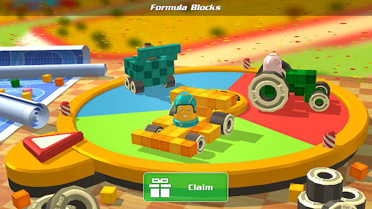 Free Pixel Car Racer – Real Voxel  Blocky Cars Racing 5