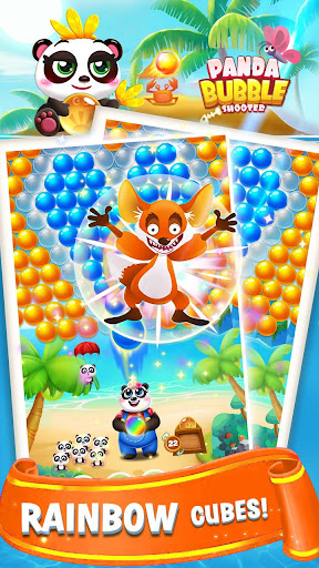 Bubble Shooter Sweet Panda apkpoly screenshots 3