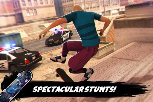 true skateboarding ride skateboard game freestyle screenshot 3