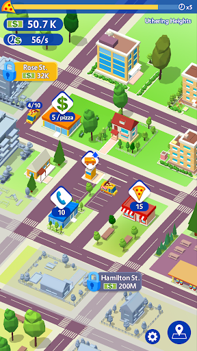 Idle Pizza Tycoon - Delivery Pizza Game screenshots 1