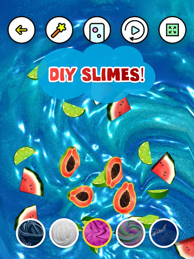 Goo: Stress Relief & ASMR Slime Simulator android2mod screenshots 5