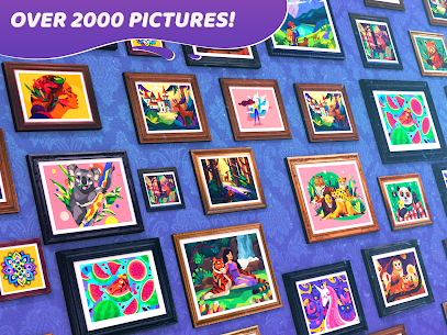 Gallery: Coloring Book Mod Apk 0.270 (Unlimited Coins/Boosters) 13