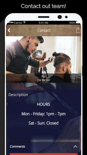 Paz the Barber
