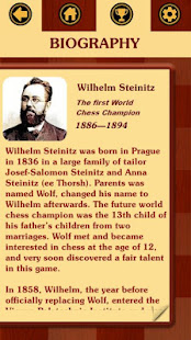 Chess legacy: Play like Steinitz.