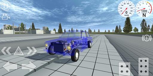 Simple Car Crash Physics Simulator Demo 1.1 screenshots 16