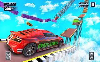 Mega Ramp Stunts Gt Racing